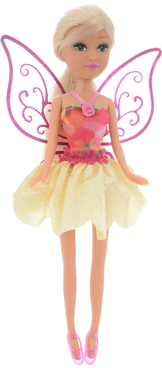 Funville Кукла Фея цвет платья розовый желтый funville кукла