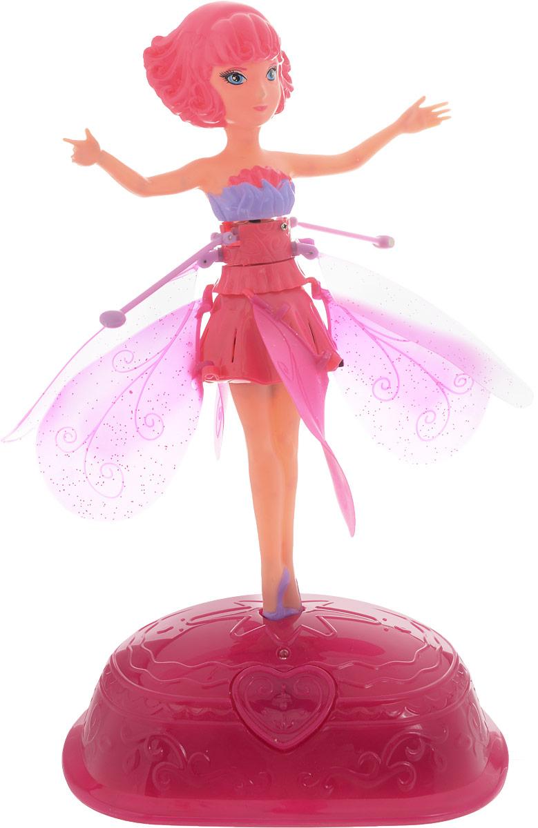 ABtoys Кукла Фея цветов цвет платья розовый abtoys кукла зимняя фея сноусторм