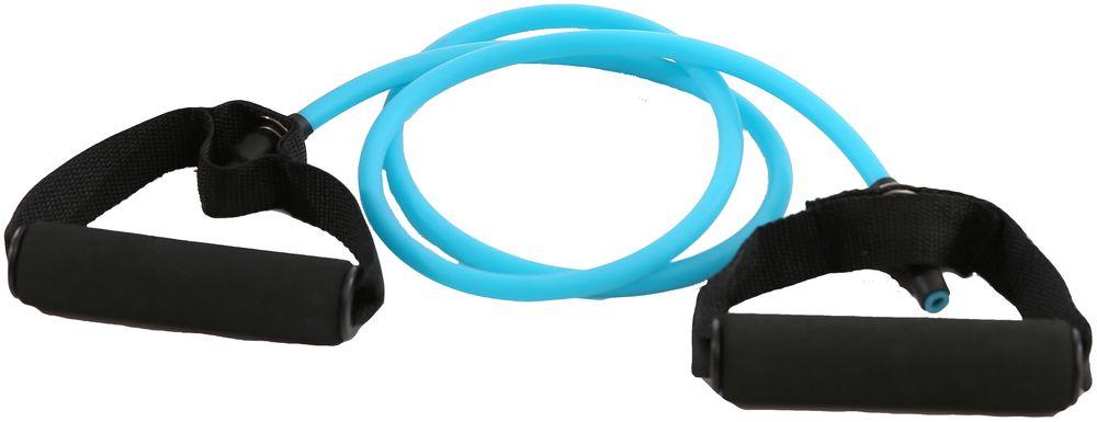 Эспандер трубчатый OneRun, 9 мм х 1,2 мSF 0085Эспандер представляет собой эластичную трубку из латекса с ручками. Эспандер поможет укрепить мышцы рук, спины, плеч и груди. Рукоятки выполнены из мягкого неопрена, что делает занятия более комфортными. Длина: 120 см, толщина 9 мм