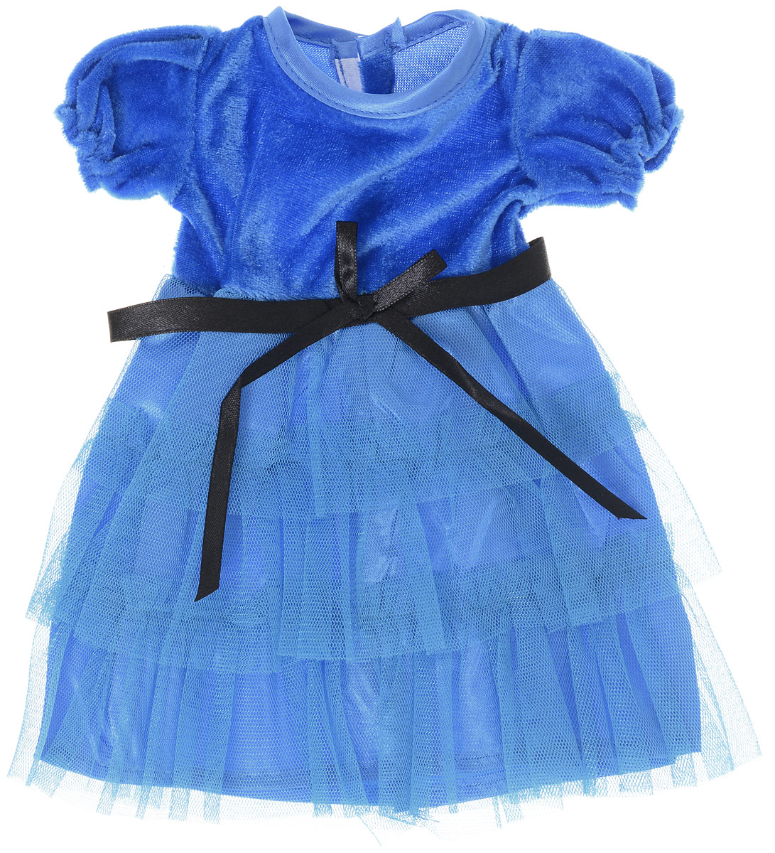 Junfa Toys Одежда для кукол Платье цвет платья синий