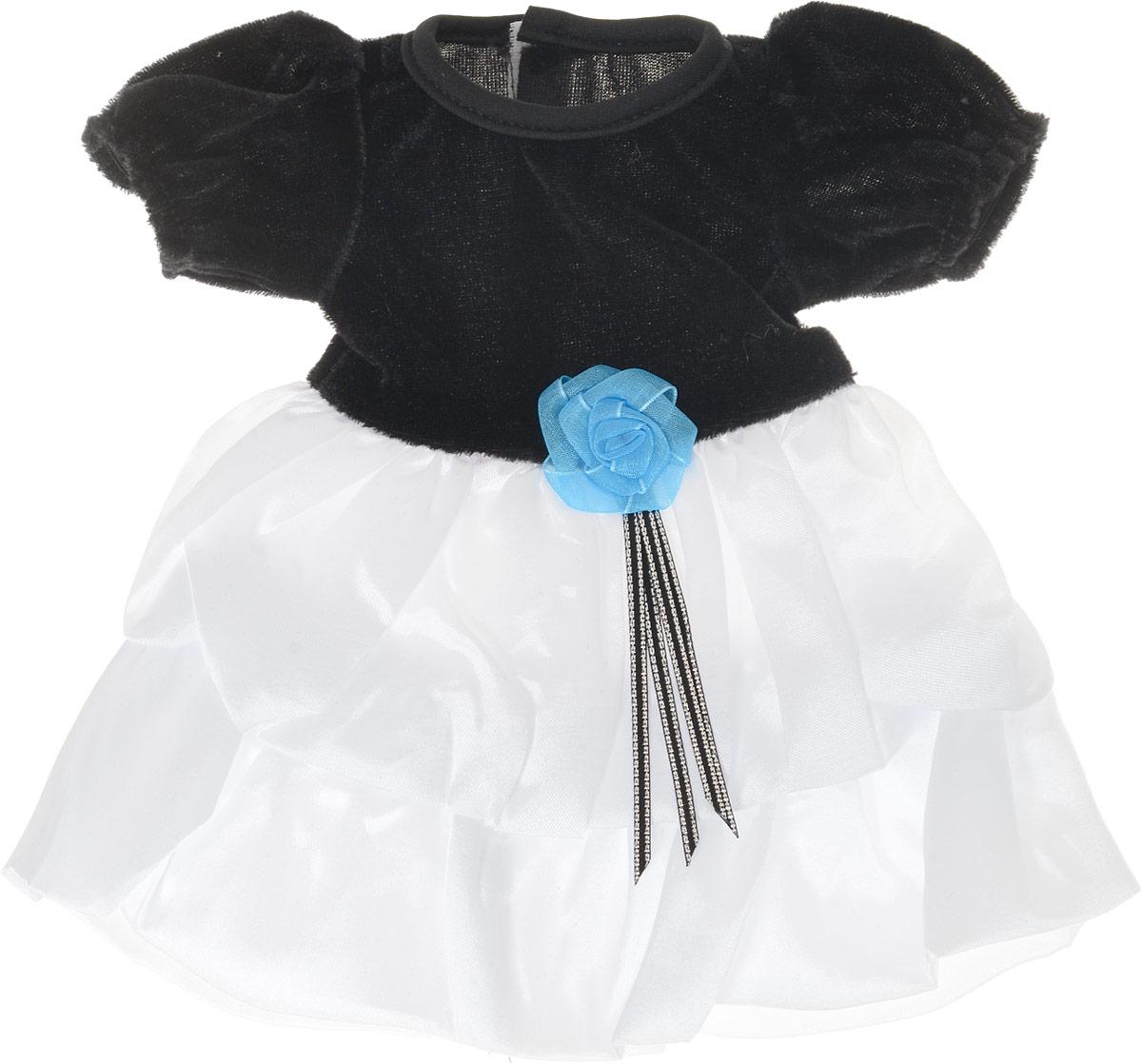 Junfa Toys Одежда для кукол Платье цвет платья черно-белый