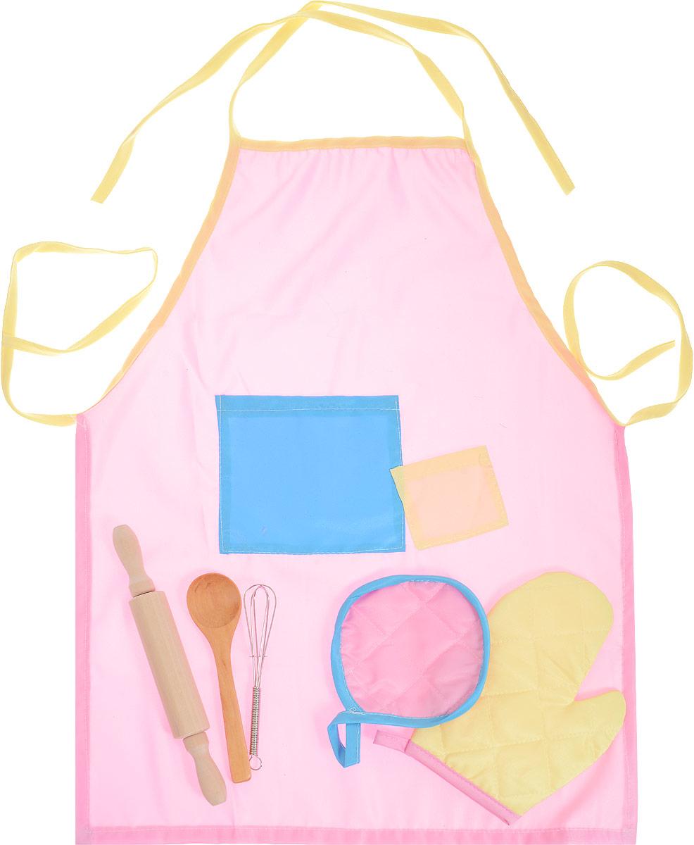 ABtoys Игровой набор Кулинар 6 предметов