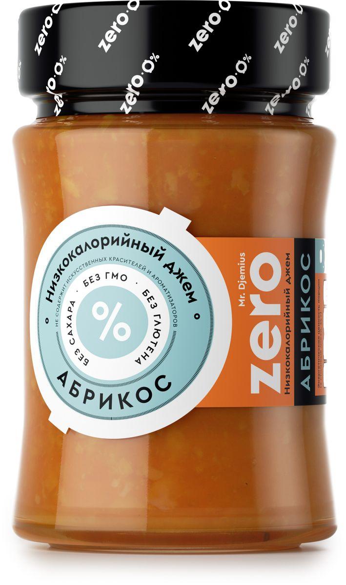 Mr. Djemius zero низкокалорийный джем абрикос, 270 г4665298961646Джем приготовлен из натуральных свежих абрикосов. Он прекрасно сочетается с тостами, с блинчиками и с кашей. Абрикосовый джем Mr. Djemius Zero способен сделать восхитительно вкусным даже диетический йогурт или творог.