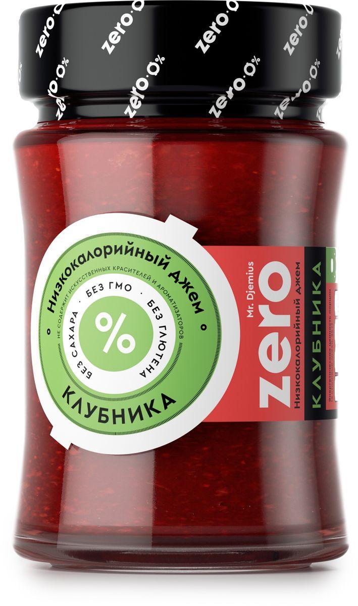 Mr. Djemius zero низкокалорийный джем клубника, 270 г0120710Клубничный джем Mr. Djemius Zero создан из свежих ягод клубники и отличается поистине безупречным вкусом. Он поможет сделать вашу диету разнообразнее и утолит потребность в сладком.Джем из клубники идеально подходит к тостам, маффинам, блинчикам,а также к творогу и йогуртам.