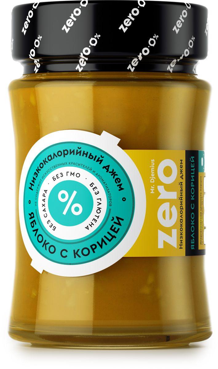 Mr. Djemius zero низкокалорийный джем яблоко с корицей, 270 г0120710Яблоко с корицей Mr. Djemius Zero – это уникальный джем, который поможет соблюдать строгую диету даже самым заядлым сладкоежкам. Он создан из натуральных ингредиентов самого высокого качества.Его можно подавать к тостам, маффинам, блинчикам и другим хлебобулочным изделиям. Творог, йогурт, да даже обычную овсянку он сделает невероятно вкусной и аппетитной.