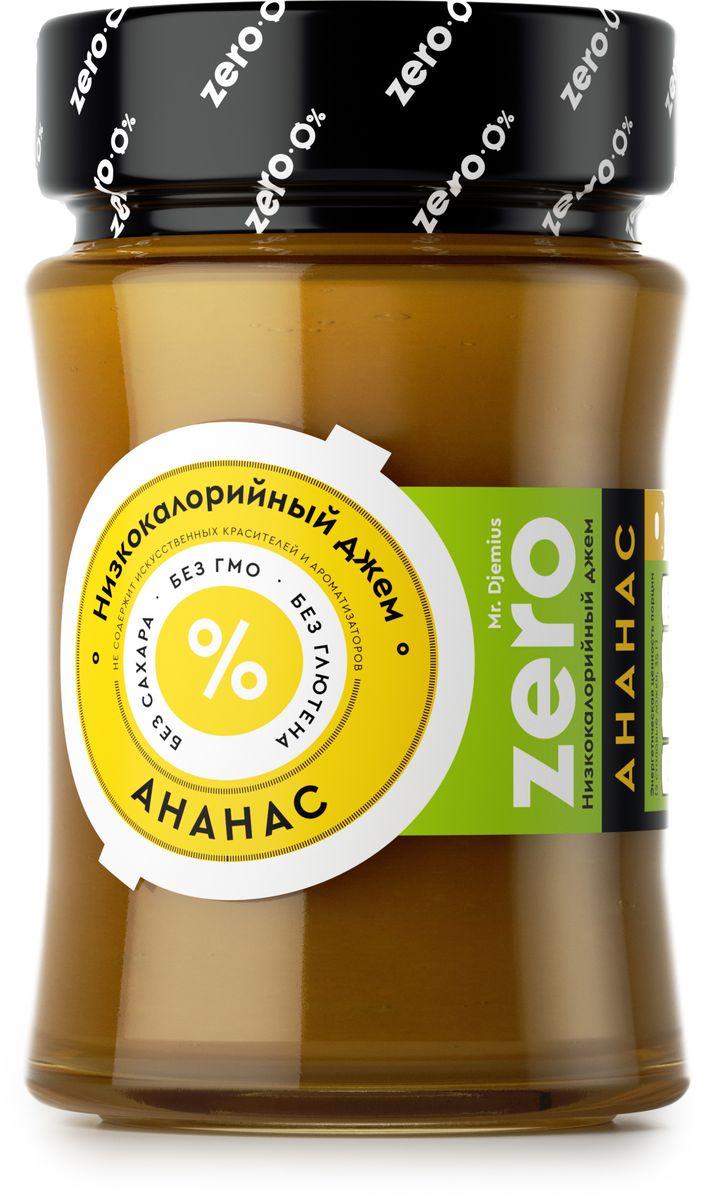 Mr. Djemius zero низкокалорийный джем ананас, 270 гБП-00000103Всеми любимый вкус ярко выражен в джеме, который приготовлен исключительно из спелых свежих фруктов, имеющих отличный жиросжигающий эффект. Mr. Djemius Zero Ананас идеально подойдет к выпечке или в прикуску с зеленым чаем, к кефиру или творогу и даже к блюдам из курицы.