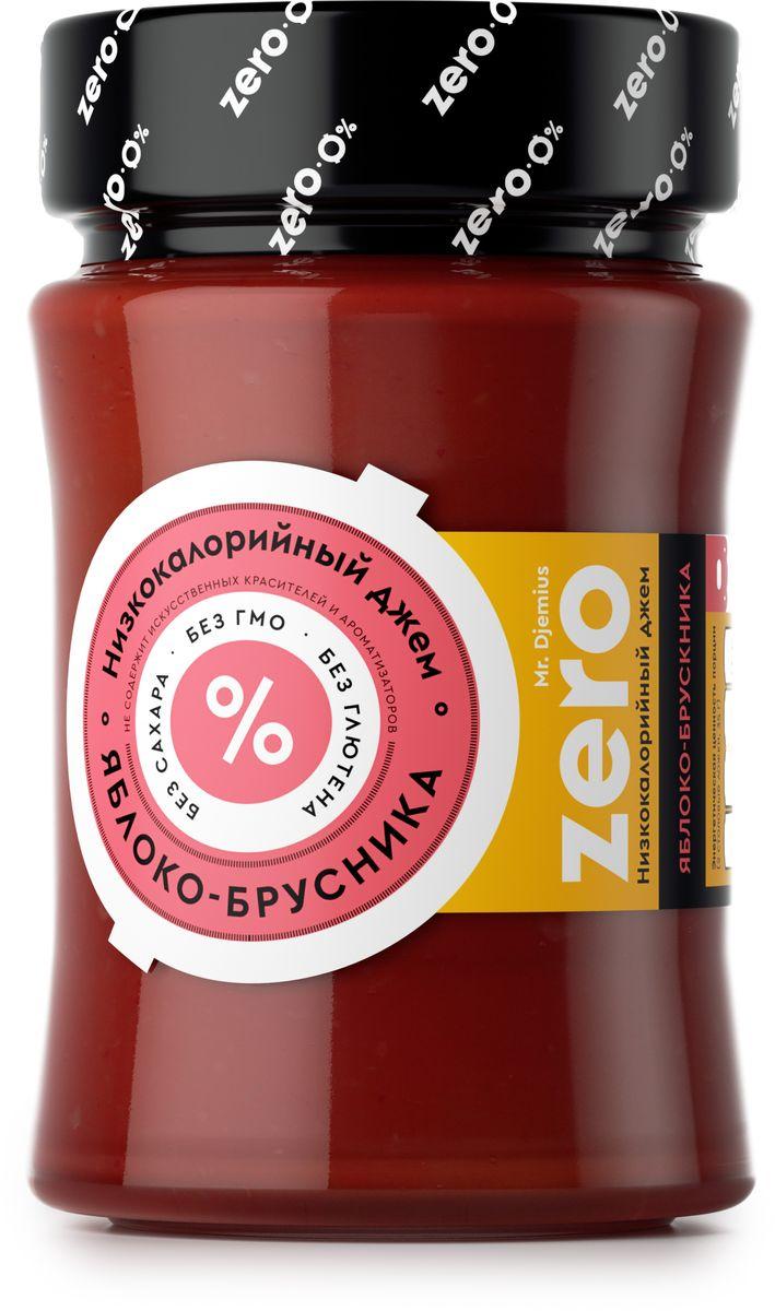 Mr. Djemius zero низкокалорийный джем ассорти фруктовое, 270 г0120710Сочетание яблока с брусникой уникально. Яблоко содержит в себе волокна, которые снижают уровень холестерина. Оно также является хорошим диетическим средством при нарушении обмена веществ, что важно для тех, кто решил сбросить лишние килограммы. Брусника же отличается низкой калорийностью, поэтому ее можно употреблять в любых количествах. Джем Яблоко-брусника – это находка для тех, кто любит без вреда для фигуры полакомиться сладким.