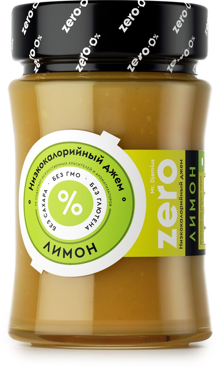 Mr. Djemius zero низкокалорийный джем лимон, 270 г0120710Человечеству давно известно, что лимон обладает лечебными свойствами. Тем, кто регулярно занимается спортом, будет полезно знать, что этот сочный фрукт способен снимать усталость и боль после физических нагрузок. Он является незаменимым помощником при простудах. Mr.Djemius Zero Лимон раскроет для вас новые вкусовые качества данного фрукта, а используя его в диетической выпечке, вы порадуете сладкоежку, ведь лимон – это еще и низкокалорийный плод.