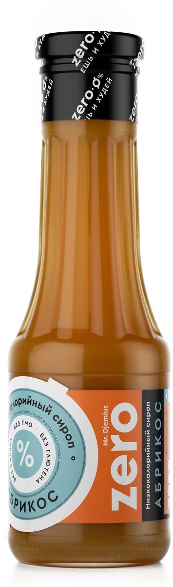 Mr. Djemius zero низкокалорийный сироп абрикос, 330 г0120710Низкокалорийные сиропы от компании Mr. Djemius – отличное дополнение к завтраку или перекусу. Сиропы изготавливаются по уникальной технологии, с использованием натуральных ингредиентов. Именно поэтому сладкие сиропы не только вкусные, но и не вредят фигуре.Десерт подходит как для тех, кто придерживается диеты, так и для тех, кто просто любит вкусно кушать. Если у вас есть желание избавиться от лишних килограммов, но не хочется ограничивать себя в сладком – тогда сиропы Mr. Djemius идеально подойдут для вас.Компания Mr. Djemius разработала большой ассортимент сладких сиропов, которые придутся по вкусу любому. Попробуйте и убедитесь в этом сами!