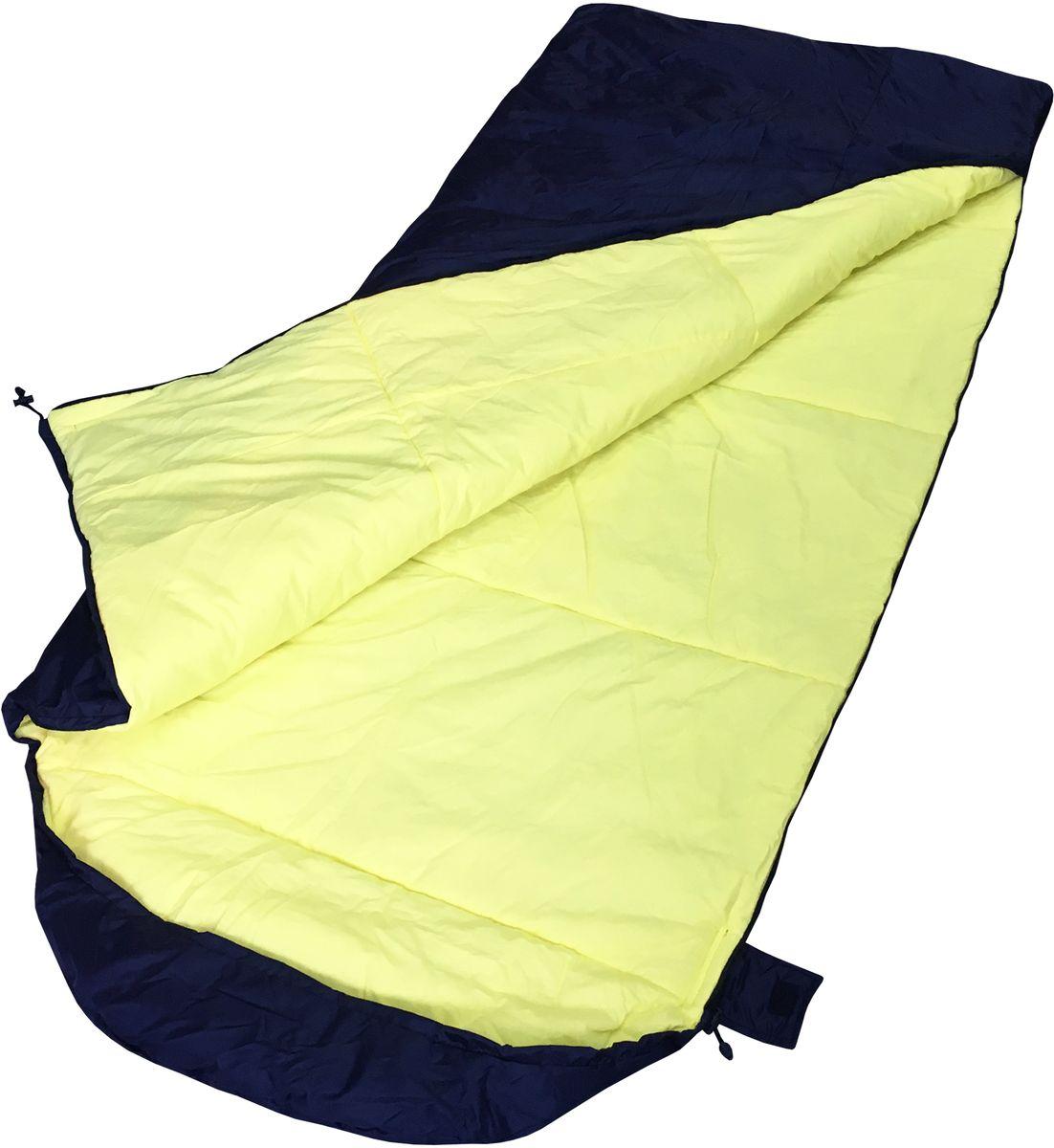 Спальный мешок Campland Lammin 250, правосторонняя молния, 90 х 220 смLammin250Спальный мешок-одеяло Campland Lammin 250 - двухслойный мешок с подголовником, для холодной погоды. Наполнитель холлофайбер 300 г/м. Регулировка объема подголовника с помощью шнурка. Отсутствие наружной стежки. Усиленная молния с двойным замком (возможность укрываться изнутри, а также липа для фиксации). Упакован в компрессионный мешок..Размер в сжатом виде: 25 х 50 см.Ткань основа - Oxford. Ткань внутренняя - Бязь, 100%хлопок. . Размер: 90 х 220 см.