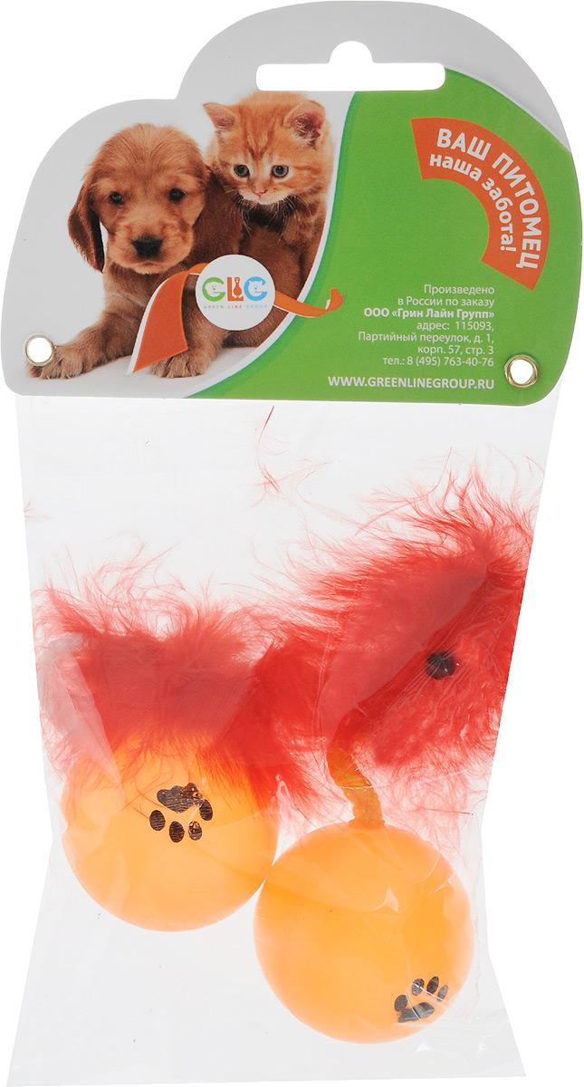 Игрушка для кошек GLG Мячик с хвостиком, с перьями, 2 штGLG002m-a315/b_оранжевый, красныйИгрушка для кошек GLG Мячик с хвостиком, выполненная из пластика и перьев, не позволит скучать вашему любимцу. Играя с этой забавной игрушкой, маленькие котята развиваются физически, а взрослые кошки и коты поддерживают свой мышечный тонус. Гремящий мячик привлечет внимание вашего любимца, не навредит здоровью и займет его на долгое время.Диаметр шара: 4 см. Комплектация: 2 шт. Уважаемые клиенты!Обращаем ваше внимание на цветовой ассортимент товара. Поставка осуществляется в зависимости от наличия на складе.