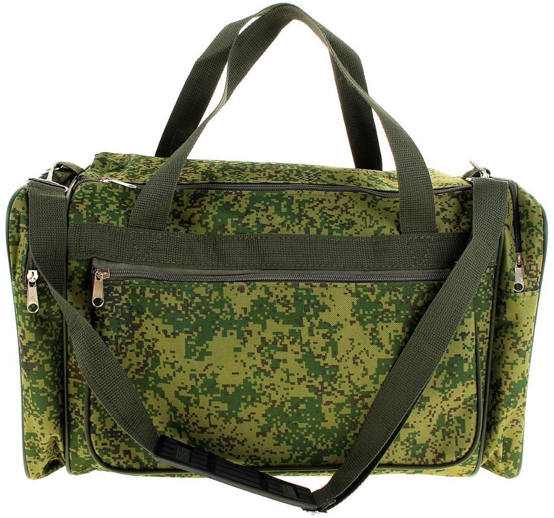 Сумка дорожная ZFTS, цвет: зеленый. 103254395934-911Модная дорожная сумка предназначена для тех, кто собирается в путешествие или деловую поездку.В большое отделение вместятся необходимые вещи: от нижнего белья до верхней одежды. А удобные карманы предназначены для хранения предметов первой необходимости: косметички, зубной щётки или влажных салфеток. Теперь не надо будет перерывать весь багаж в поисках нужной вещи! Порядок в сумке поможет всегда быть в курсе того, где и что лежит.Модель оснащена широкими ручками и длинным съёмным ремнём для комфортной переноски. Дорожный аксессуар прослужит много лет, так как изготовлен из прочного текстиля, устойчивого к выцветанию.