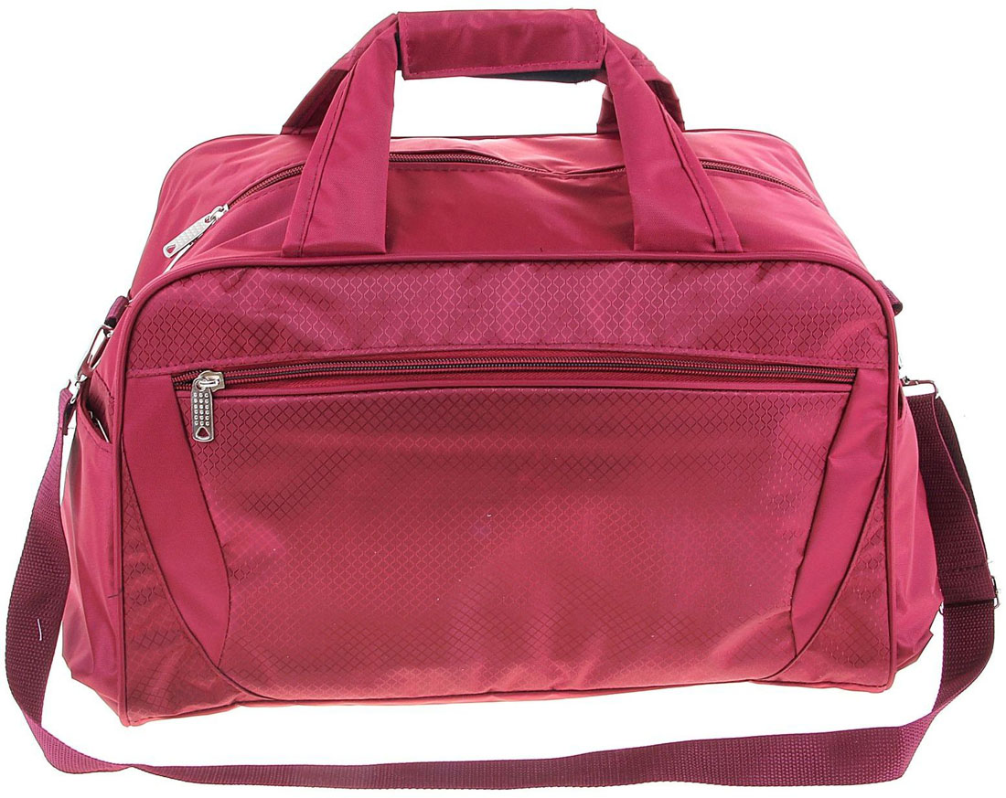 Сумка дорожная ZFTS, цвет: розовый. 1070456MABLSEH10001Каждый третий путешественник называет дорожную сумку-трансформер самым современным и демократичным вариантом аксессуара.Объёмное отделение сумки вмещает все необходимые вещи: от нижнего белья до верхней одежды. Продуманная система застёжек-молний помогут увеличить объём сумки и при необходимости положить гораздо больше предметов!Это удобно, когда вы едете в отпуск и собираетесь устроить себе шоппинг. Уезжаете налегке, а на обратном пути увеличиваете сумку в объёме. Теперь в багаж поместятся все милые безделушки, сувениры и подарки, которые вы приобрели!