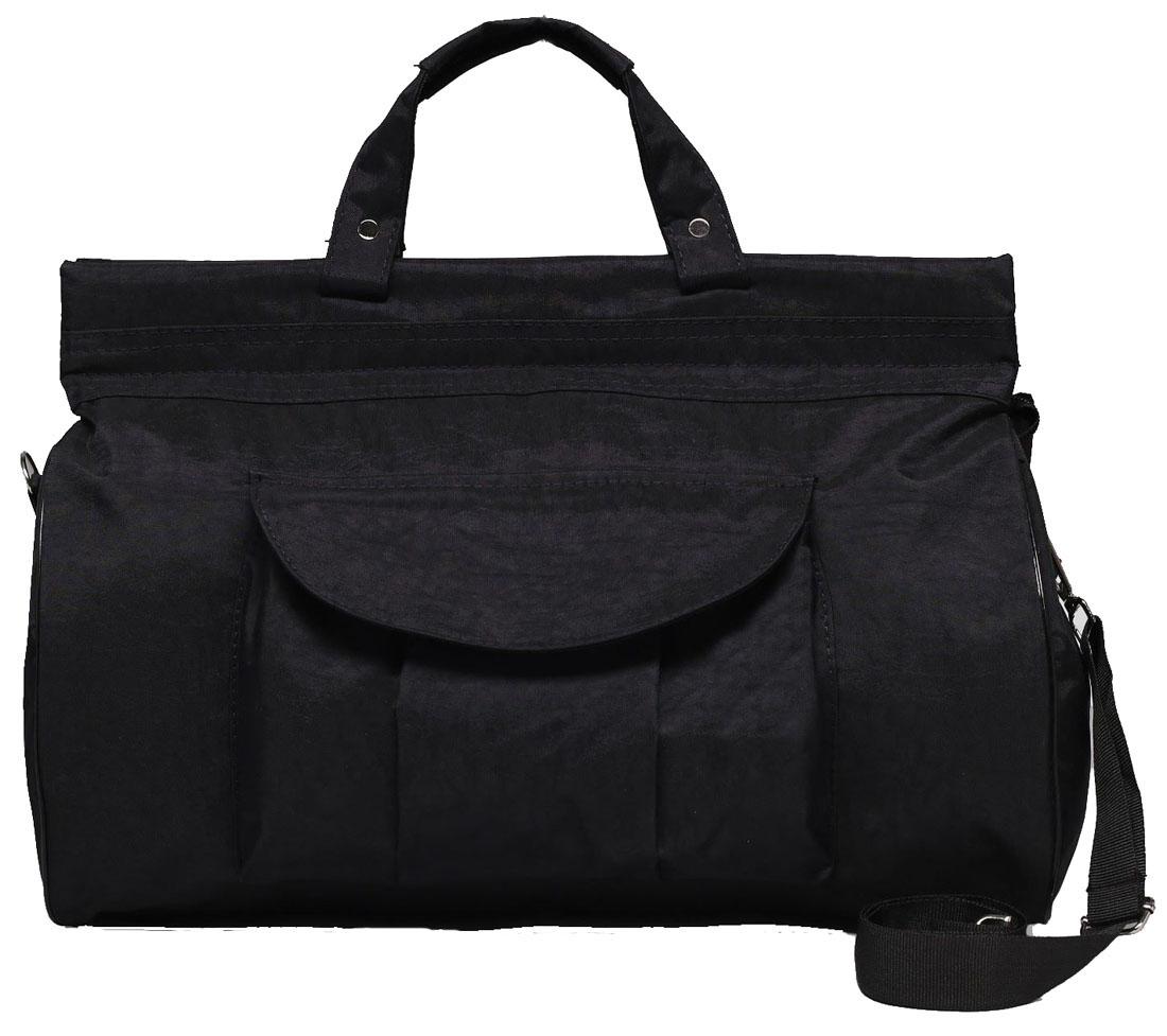 Сумка дорожная Arlion, цвет: черный. 21792282179228Дорожная сумка Arlion прекрасно подойдет для поездок. Она выполнена из прочного текстиля. Большое отделение закрывается на молнию. Имеет внешний нашивной карман на клапане.Сумка завершит и дополнит образ, подчеркнет стиль, статус и вкус своего обладателя.Это вещь достойного качества, которая может стать прекрасным подарком по любому поводу.Сумка имеет плечевой регулируемый ремень.Размер: 43 х 18 х 31 см.