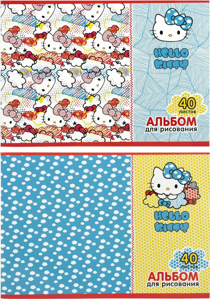 Action! Альбом для рисования Hello Kitty 40 листов 2 шт72523WDАльбом для рисования Action! Hello Kitty выполнен из качественной бумаги белого цвета с яркой обложкой из плотного картона.Внутренний блок альбома состоит из 40 листов белой бумаги, соединенной двумя металлическими скрепками. Увлечение изобразительным творчеством носит не только развлекательный характер, но и развивает цветовое восприятие, зрительную память и воображение. В наборе два альбома для рисования.