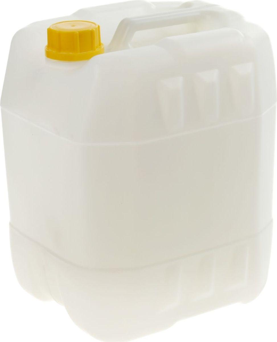 Канистра Радиан Евро, цвет: белый, 20 л2615S690JAНам часто приходится хранить и транспортировать различные жидкости. Для грамотной организации этих процессов требуются специальные пластиковые тары.Канистра 20 л, евро, цвет белый — идеальное решение для упаковки, хранения и перевозки:жидких удобрений,промышленных жидкостей и масел,технической воды.Качественный пластик обеспечивает сохранность содержимого, не изменяя его свойств. Кроме того, изделие имеет ряд достоинств, делающих его использование особенно удобным:возможность устойчивого штабелированиякрышка-пломба защищает от несанкционированного доступауплотнительное кольцо обеспечивает герметичность канистрыобъём жидкости легко определить по мерным рискам.Выбирайте качественный продукт!