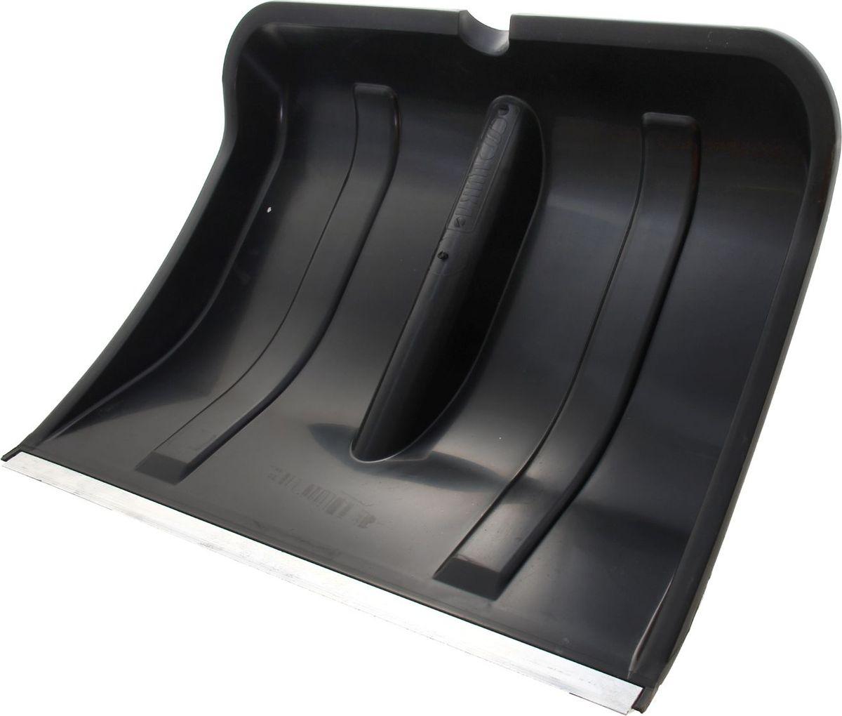Лопата для снега Богатырь, с тулейкой и планкой, 40 х 12 х 50 смGACP25-083Эргономичная пластиковая лопата Богатырь имеет размеры: 39 х 50 х 10,5 см, тулейка d-3,2 см, с алюминиевой планкой. Модель изготовлена без черенка и отличается высокой прочностью. Удобная конструкция со стандартной тулейкой позволит вам легко очистить заснеженную территорию любой площади.
