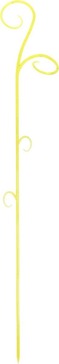 Опора для растений Техоснастка Зеленый флер, цвет: янтарный, 60 x 12 x 6 см1036535Опора для растений Техоснастка Зеленый флер выполнена в форме изящного цветка, которая украсит каждый без исключения дом. Пользоваться держателем просто: нужно лишь устойчиво закрепить его в земле, после чего подвязать к нему растение. Держатель подойдет и для других цветов. В суете повседневных забот не стоит забывать о прекрасном.
