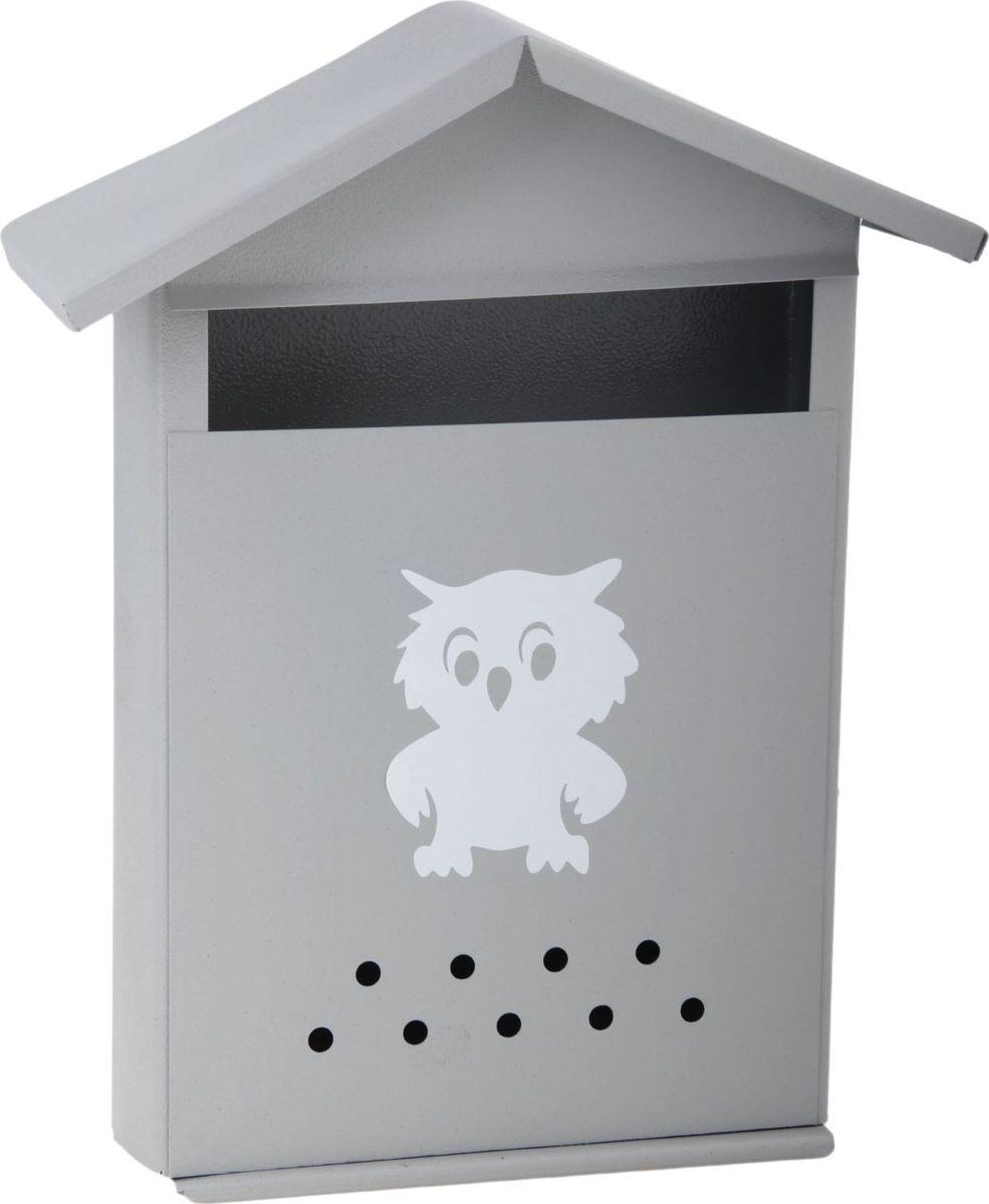 Ящик почтовый Домик, цвет: серый, 28 х 36 х 10 смK100Используйте почтовый ящик для получения корреспонденции, счетов, журналов в загородном доме или на даче. Он компактный, вместительный и прослужит вам долгие годы. Особое порошковое напыление защищает поверхность от царапин. Изделие не ржавеет от дождя и снега. На задней стенке корпуса есть специальные отверстия для крепления. Применяйте навесной замок, чтобы корреспонденция дошла в полном объёме.