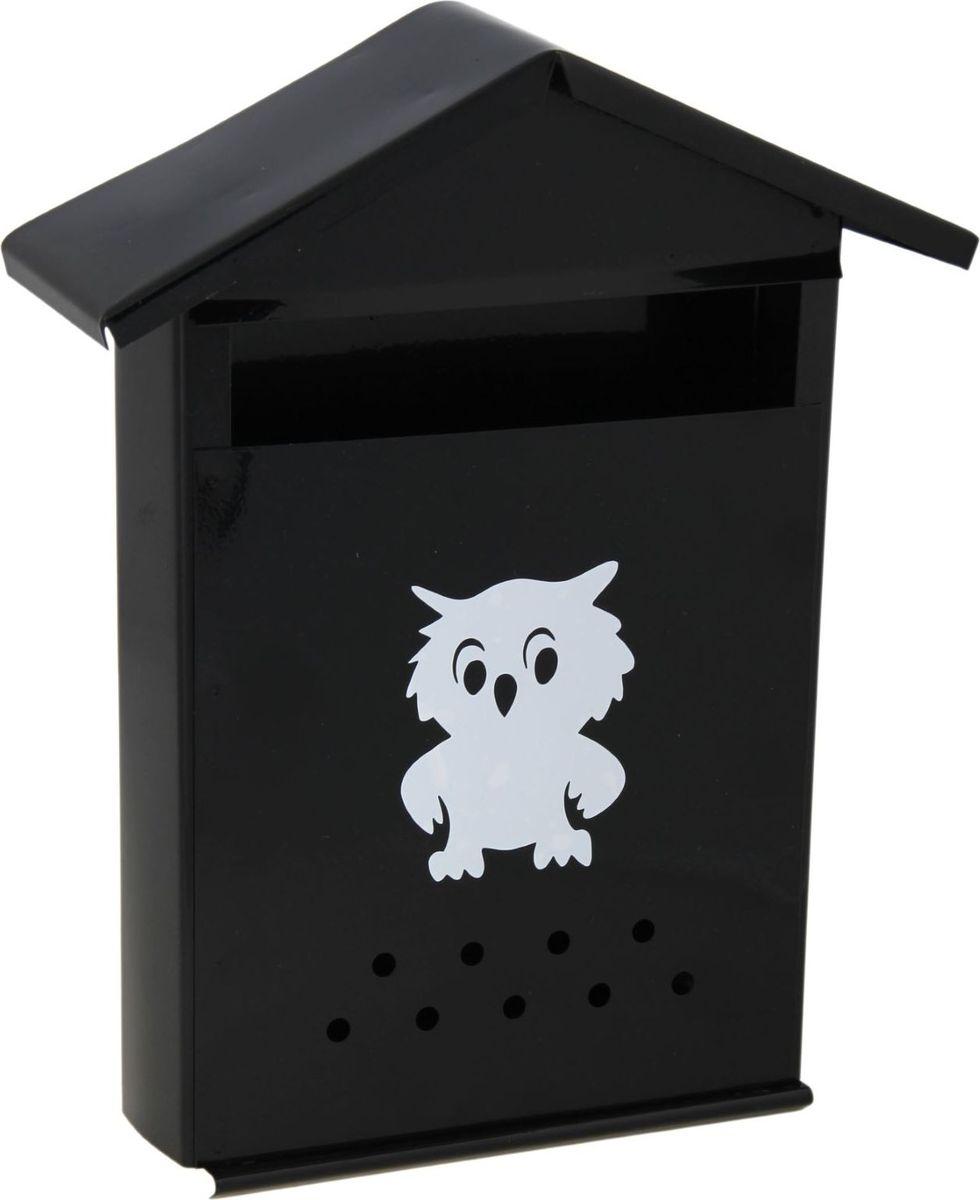 Ящик почтовый Домик, цвет: черный, 36 х 28 х 10 см09840-20.000.00Используйте почтовый ящик для получения корреспонденции, счетов, журналов в загородном доме или на даче. Он компактный, вместительный и прослужит вам долгие годы. Особое порошковое напыление защищает поверхность от царапин. Изделие не ржавеет от дождя и снега. На задней стенке корпуса есть специальные отверстия для крепления. Применяйте навесной замок, чтобы корреспонденция дошла в полном объёме.