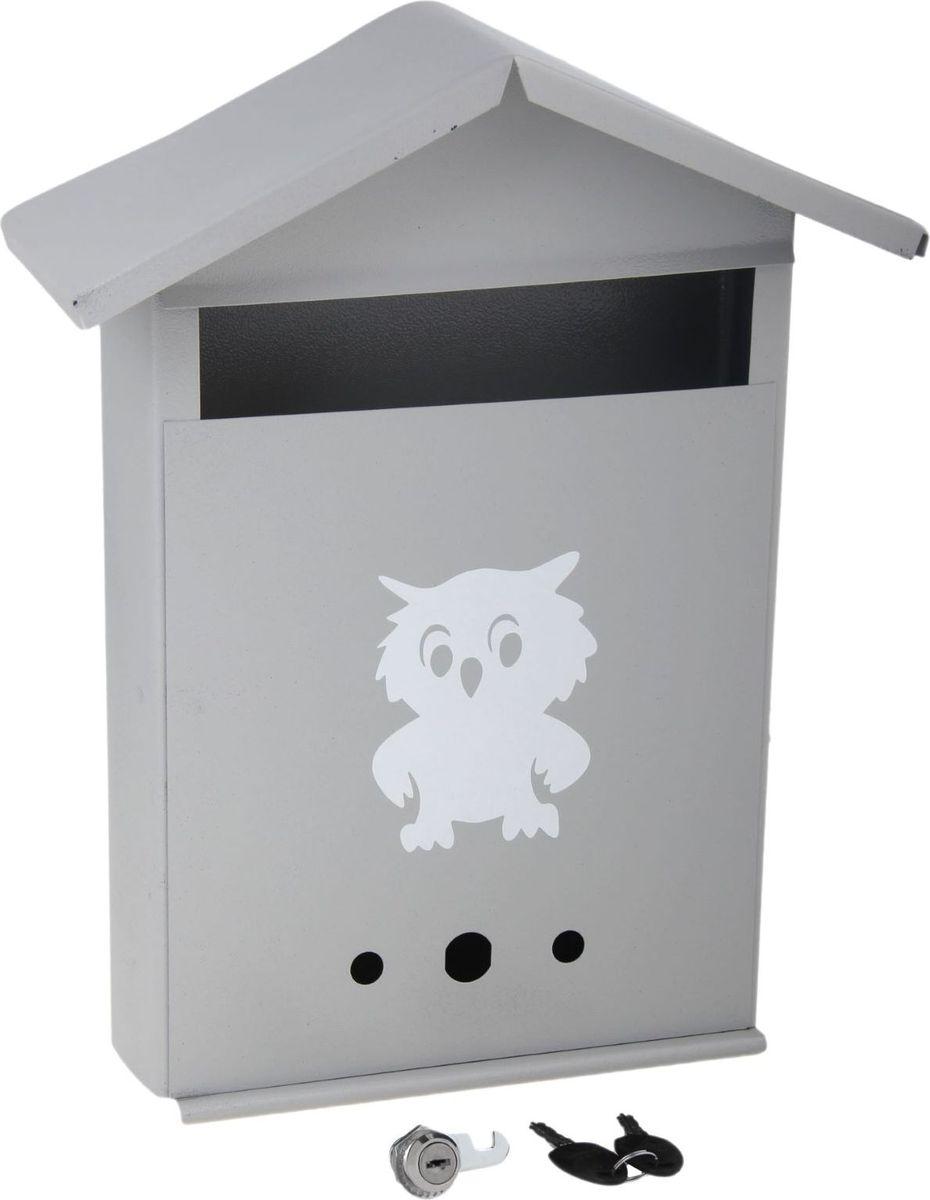 Ящик почтовый Домик, с замком, цвет: серый, 28 х 36 х 10 см466096Используйте почтовый ящик для получения корреспонденции, счетов, журналов в загородном доме или на даче. Он компактный, вместительный и прослужит вам долгие годы.Особое порошковое напыление защищает поверхность от царапин. Изделие не ржавеет от дождя и снега. На задней стенке корпуса есть специальные отверстия для крепления. Замок-щеколда отвечает за сохранность содержимого.