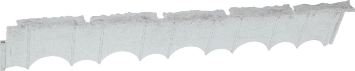 Бордюр садовый Камешки, цвет: серый мрамор, 75 х 13 х 2 см391602Садовый бордюр «Камешки» — удобный инструмент ландшафтного дизайна. Он помогает оформить зелёную зону и подчёркивает индивидуальность участка. Изделие подходит для практических и декоративных целей. Оно незаметно и незаменимо при формировании:грядокдорожекгазоновдетских песочницальпийских горок. Преимущества Грунт сохраняет форму, не расползается. Дорожки обретают чёткие границы. Для установки подходит участок любой геометрической формы. Нет необходимости в подготовке траншей. Изделие устойчиво к сдвигам грунта, перепадам температуры.
