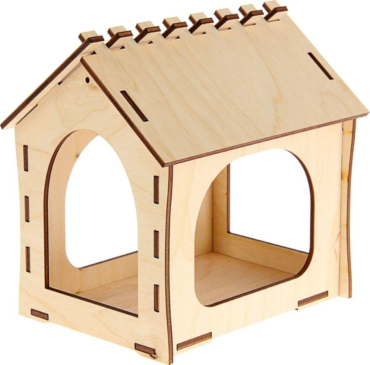 Кормушка для птиц ТД ДМ, 18,5 х 13,5 х 18,5 смC0038550Кормушка для птиц ТД ДМ, раскроет неожиданные способности у вашего ребёнка. Сборная конструкция изделия изготовлена из дерева.