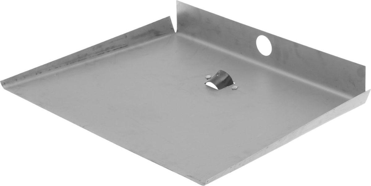 Лопата для снега, трехбортная, 50 х 60 х 10 см1622163Лопата предназначена для уборки снега. С помощью лопаты вы легко расчистите дорогу. Вы также можете использовать её для комплектации зерновых инструментов. Рабочая часть из оцинкованной стали лёгкая и прочная, не боится коррозии, влаги и перепадов температуры. Материал: оцинкованная сталь.