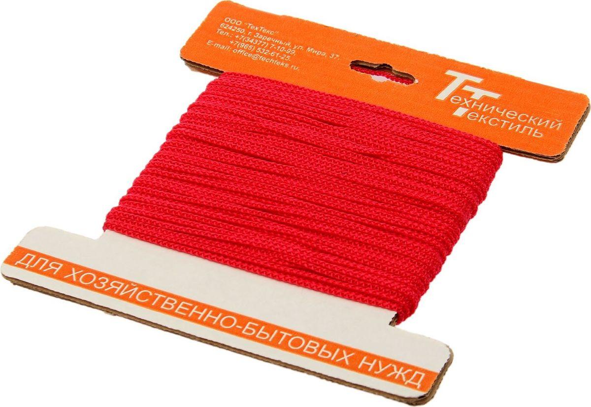 Шнур вязаный, цвет: красный, 2 мм, 30 м1827803Универсальный бытовой шнур изготовлен из прочного полипропилена. Шнур крепкий и надежный, подойдет как для бытового использования, так и для профессиональной деятельности. Диаметр шнура: 2 мм.Длина шнура: 30 м.