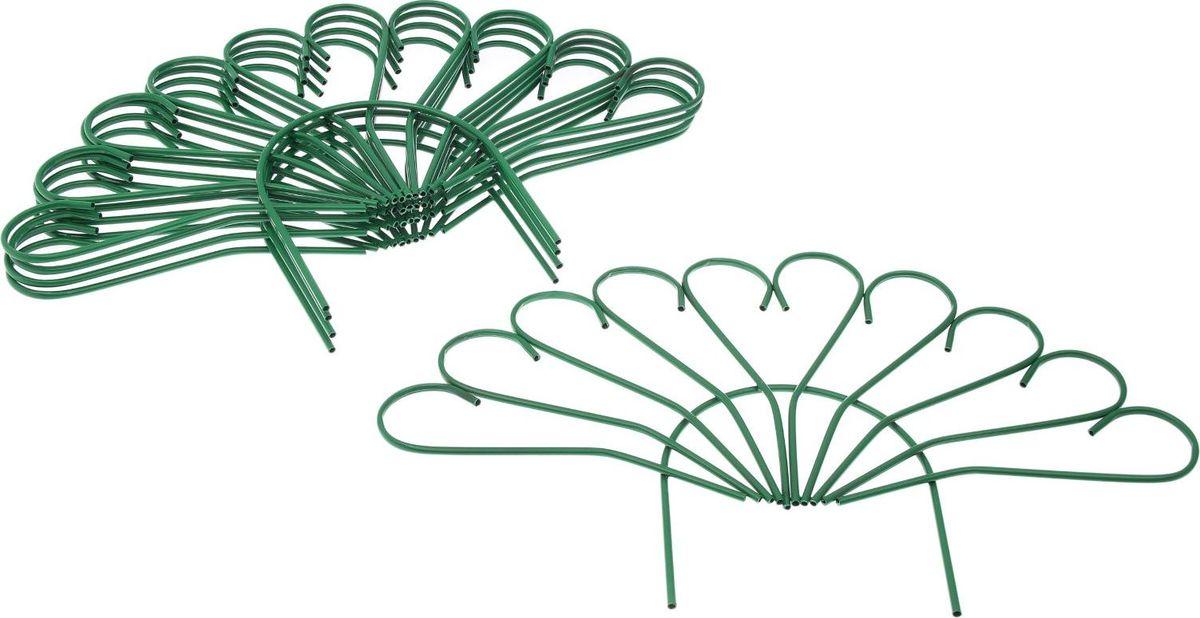 Ограждение садовое декоративное Павлин, 5 секций, цвет: , 60 х 490 см2083048