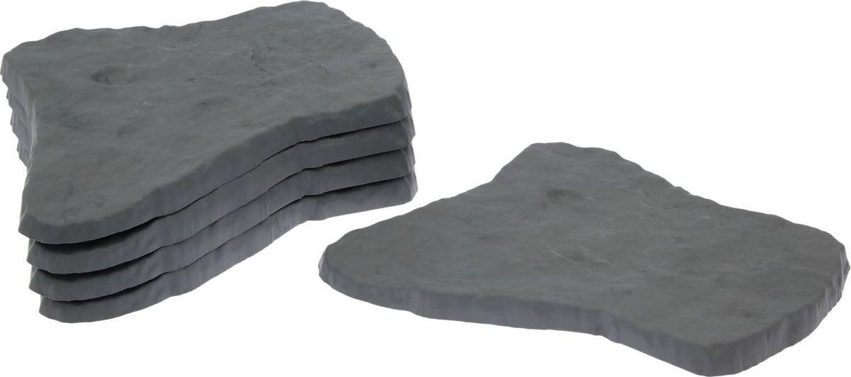 Плитка садовая Sima-land, цвет: серый гранит, 55 х 42 см09840-20.000.00Плитка садовая Sima-land, имитирующая камень, выполнена из пластика. Изделие отличается прочностью, износостойкостью и практичностью. Предназначено для укладки садовых дорожек.