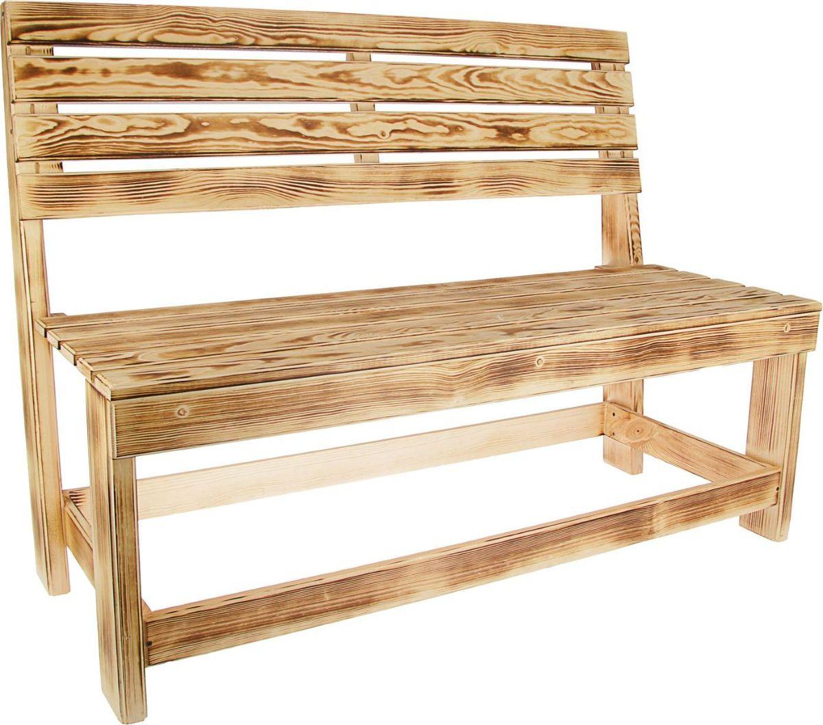 Скамья садовая Добрая баня Дачный, со спинкой, длина 120 см. 23185412318541Сесть и расслабиться после посещения парной, поставить черпак или веник - для всего этого пригодится скамья со спинкой от компании Добрая баня.Данная модель изготовлена из натурального дерева и обработана специальным составом. Она выдержит большие перепады температуры, сильный нагрев, высокую влажность и прочие экстремальные условия. Изделие идеально дополнит интерьер комнат, особенно в экостиле, или послужит излюбленным местом отдыха на открытом воздухе, например в загородном доме.Преимущества деревянных изделий: - выдерживают перепады температуры, не рассыхаются; - им не грозит коррозия или деформация, в отличие от изделий из пластика или металла; - влагоустойчивы и не подвержены гниению; - практически не нагреваются, поэтому вы не обожжётесь; - натуральные и экологически чистые материалы, созданные самой природой;- привлекательный внешний вид (липа не темнеет со временем).Скамья сможет стать прекрасным подарком ценителям настоящей русской бани.С лёгким паром!