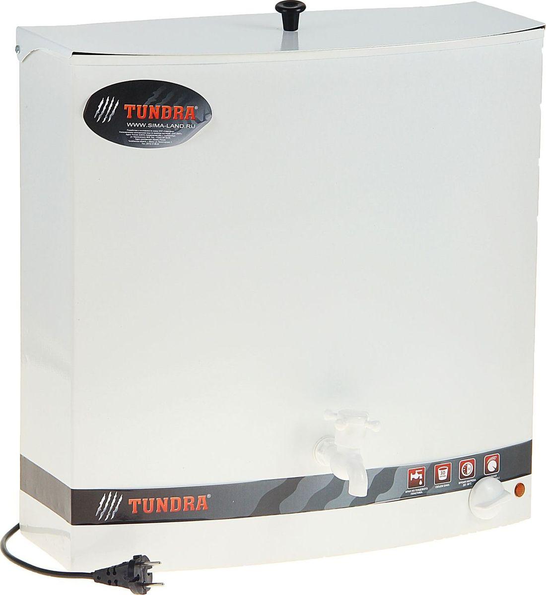 Бак настенный Tundra, с электроводонагревателем, цвет: белый, 30 лRSP-202SУмывальник Tundra — отличное приобретение для дачи, гаража, мастерской и мест без центрального водоснабжения. Металлический корпус прост в уходе и обладает высокой износостойкостью.Встроенный водонагреватель делает процесс мытья посуды или другие водные процедуры более комфортными.Вы можете самостоятельно выбирать нужную температуру воды с помощью удобного регулятора. Данная модель подходит как для гигиенических, так и для хозяйственных целей.