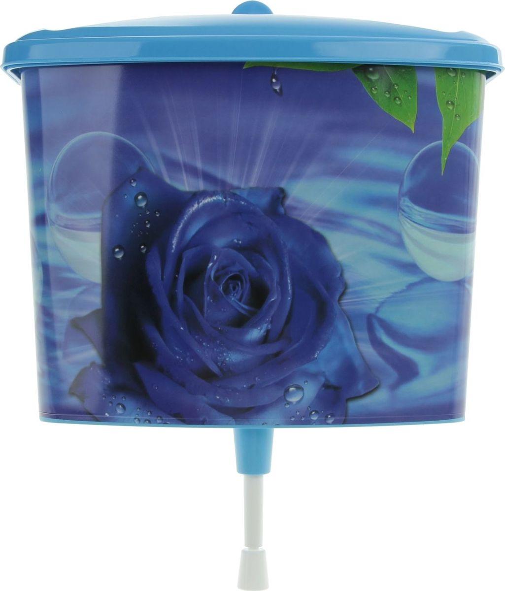 Рукомойник Альтернатива Вечерняя роза, 5 л541468Оригинальный рукомойник поможет вам поддерживать чистоту рук на вашем дачном участке. Рукомойник изготовлен прочного пластика. Крышка плотно прилегает к рукомойнику, что препятствует попаданию грязи и пыли в воду. На крышке рукомойника предусмотрены места под мыло.