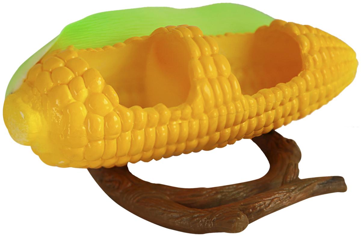 Кормушка для птиц Penn-Plax Кукуруза. BA4540120710Кормушка для птиц внутренняя пластиковая Кукуруза. Крепление к стенке клетки.