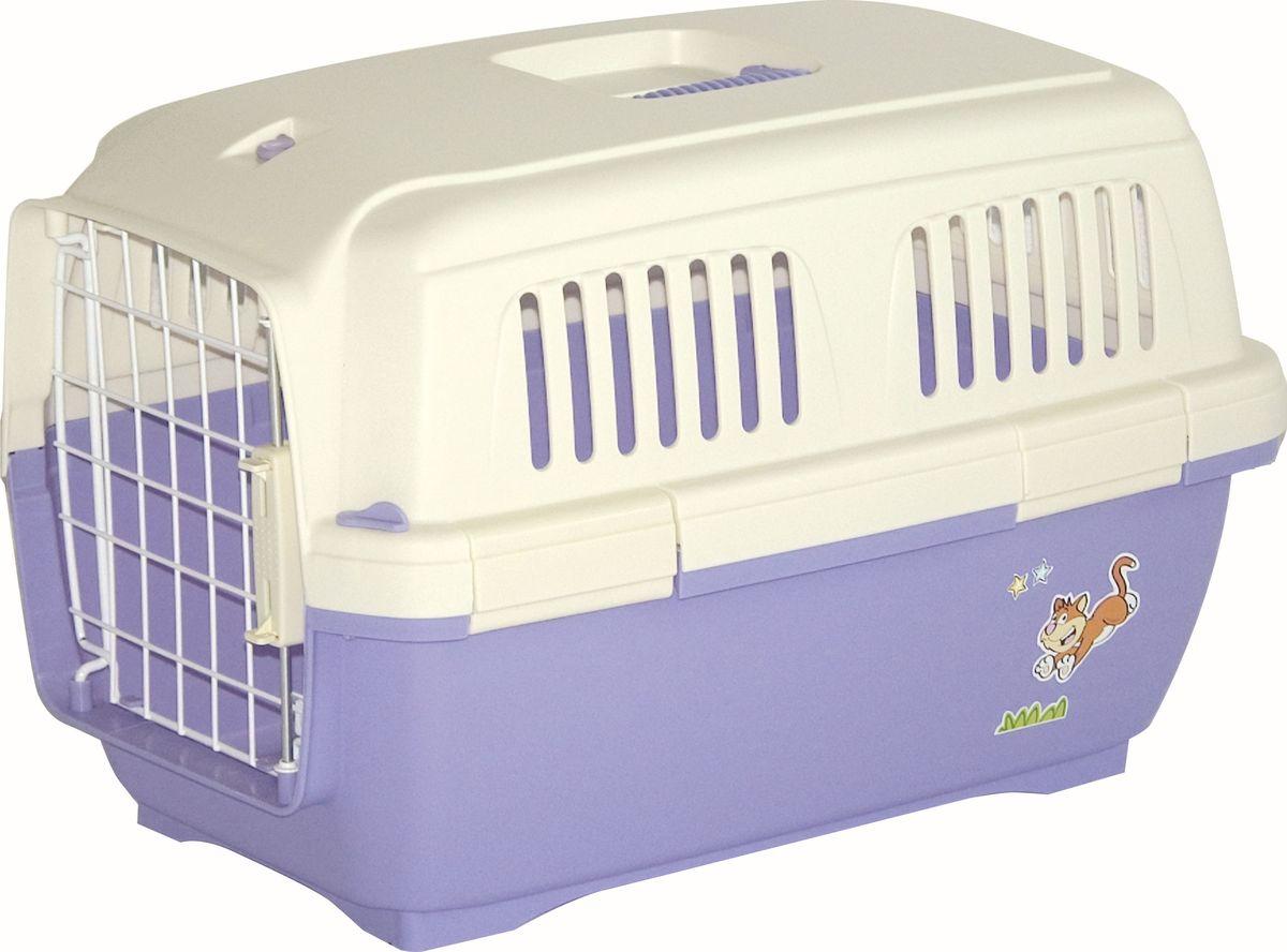 Переноска для животных Marchioro Cayman 1, цвет: сиреневый, 50 х 33 х 32 см0120710Marchioro переноска Cayman 1 для кошек и собак сирень.Переноска с боковой дверью применяется для транспортировки животных. Соответствует стандартам Международной ассоциации воздушного транспорта (IATA) и прекрасно подходит для перевозки животного в самолете. Соответствует стандартам ж/д перевозок.Корпус клетки выполнен из пластика, дверка закрывается на нержавеющий замок, пол переноски усилен. Подходит для животных весом 3 - 10кг (мальтезе, чихуахуа, йорк, кошки, померанский шпиц, ши-тцу) Предусмотрена дополнительная комплектация: колеса для перевозки, ремень, поилка, решетка на дно (продаются отдельно).Цвет сирень.Вес 1,7 кг. Размер 50х30х32.