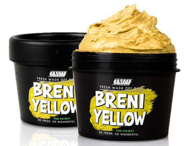 B&Soap Питательная маска Breni Yellow, 130 грЧ9227Основными действующими компонент питательной маски являются экстракт меда, масло сладкого миндаля и масло оливы. Мед интенсивно питает и насыщает кожу полезными микроэлементами, способствуя ускорению регенерации кожного покрова. Миндальное масло и мало оливы, благодаря высокому содержанию витаминов, питает и повышает упругость кожи. Экстракт алоэ вера обладают противовоспалительными и бактерицидными свойствами. Экстракт моркови очищает кожу от токсинов и улучшает ее внешний вид.