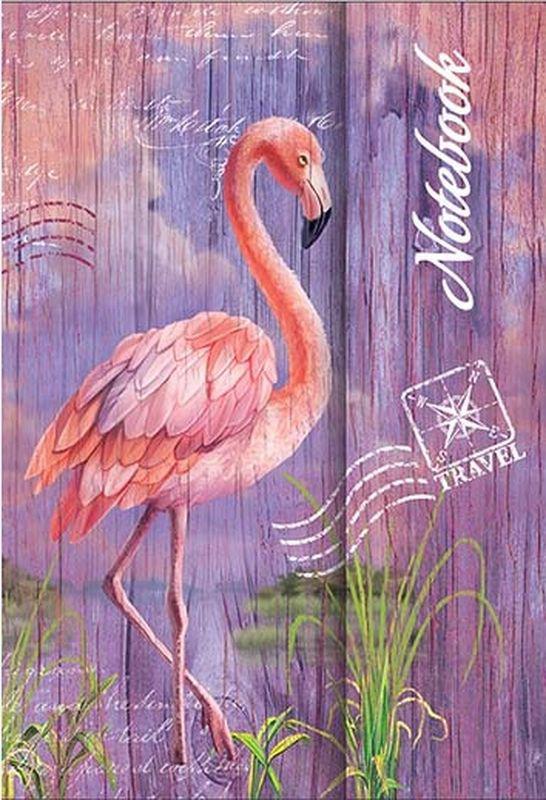 Феникс+ Записная книжка Ноутбук Фламинго 60 листов в линейку125738Записная книжка Феникс+ Ноутбук Фламинго - в обложке с глянцевым покрытием станет достойным аксессуаром среди ваших канцелярских принадлежностей. Записная книжка содержит 60 листов в линейку, имеет твердый переплет на магнитной застежке. Она подойдет как для деловых людей, так и для любителей записывать свои мысли, рисовать скетчи, делать наброски.