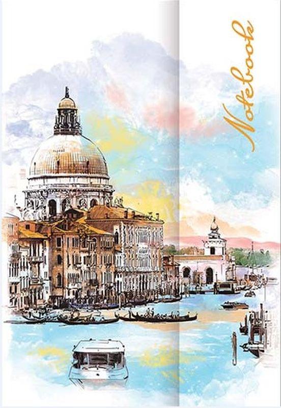 Феникс+ Записная книжка Ноутбук Венеция в линейку 60 листов -  Бумага и бумажная продукция