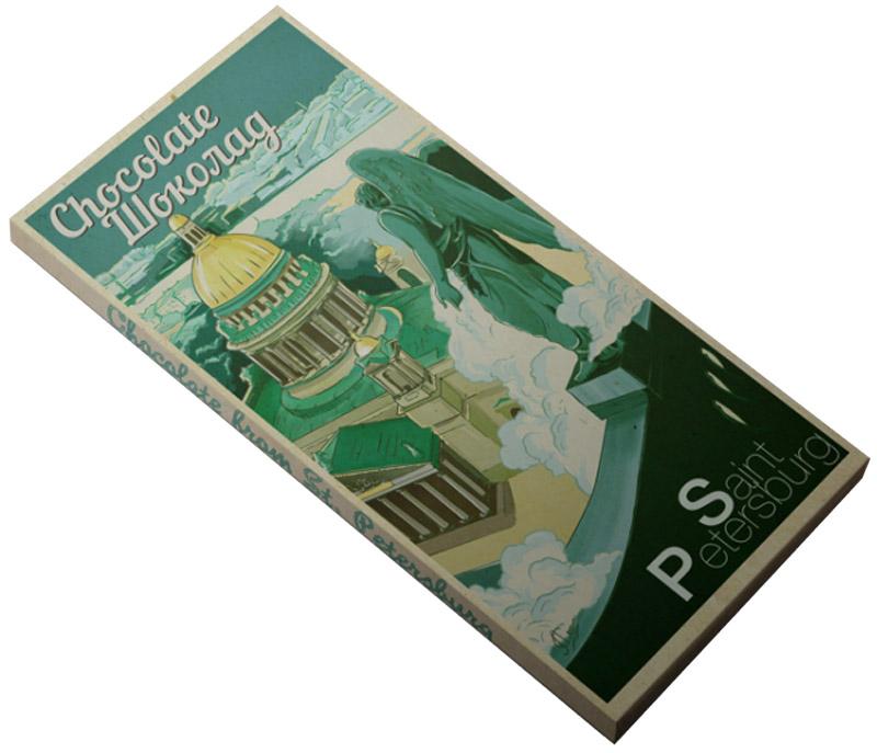 Petersburg Исаакиевский собор молочный шоколад, 100 г