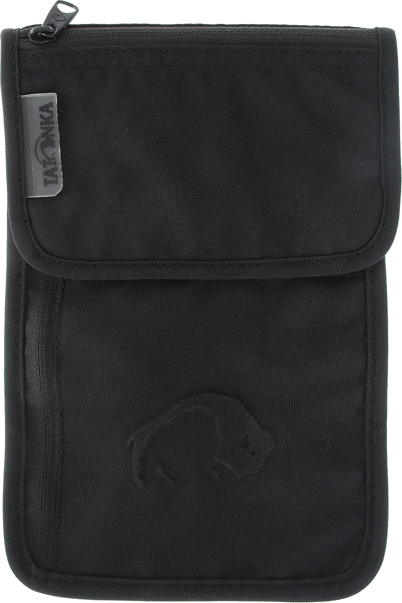 Кошелек Tatonka Neck Wallet, цвет: черный. 2890.040 tatonka euro wallet
