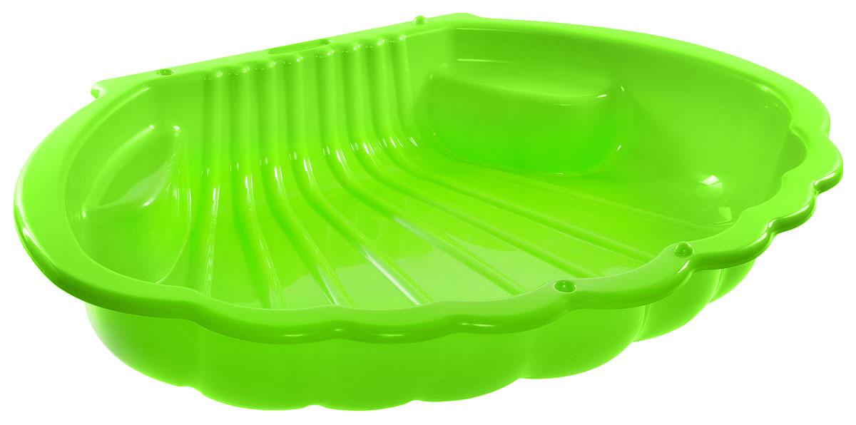 Mochtoys Песочница Ракушка цвет зеленый
