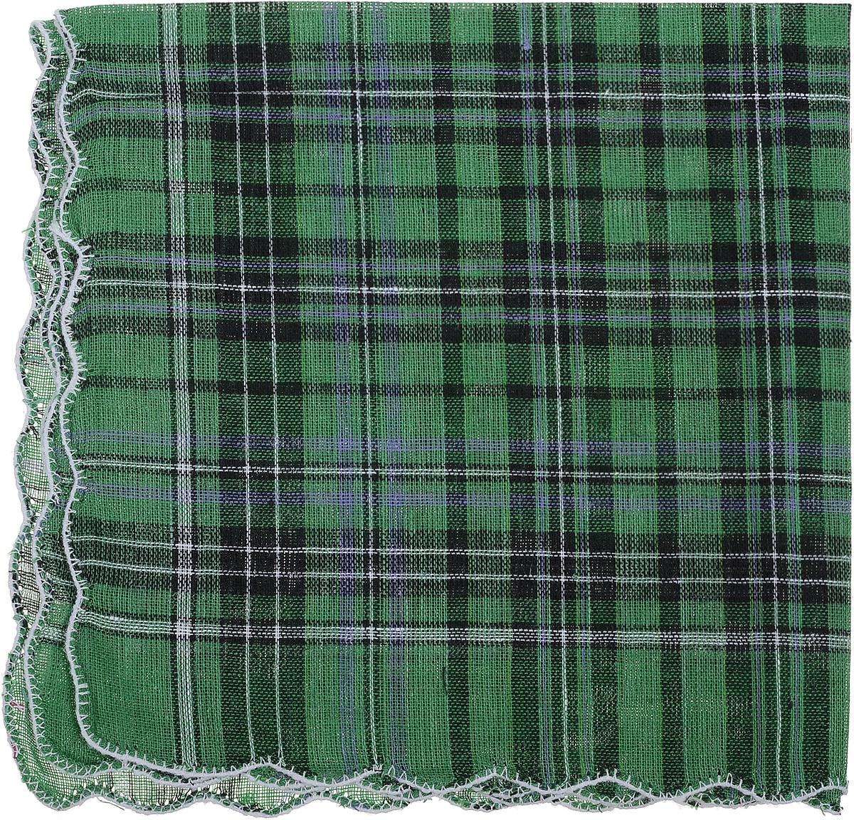 Платок носовой женский Zlata Korunka, цвет: зеленый, черный. 45478. Размер 27 см х 27 смСерьги с подвескамиПлаток носовой женский Zlata Korunka, цвет: зеленый, черный. 45478. Размер 27 см х 27 см