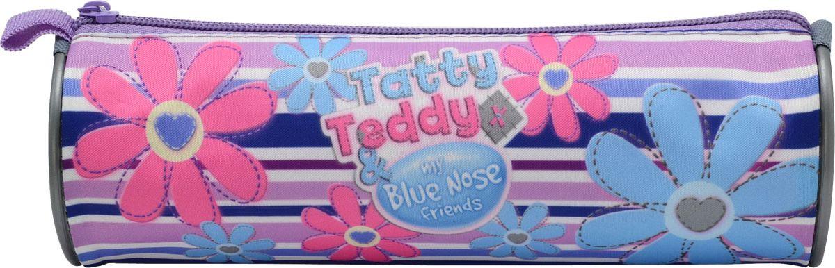 Action! Пенал-тубус Tatty Teddy цвет розовый голубой730396Пенал-тубус Action Tatty Teddy оформлен в розово-голубом цвете с рисунками цветов.Пенал выполнен из прочных материалов и закрывается на застежку-молнию. Состоит из одного вместительного отделения, в котором без труда поместятся канцелярские принадлежности.Такой пенал станет незаменимым помощником для школьника, с ним ручки и карандаши всегда будут под рукой и больше не потеряются.