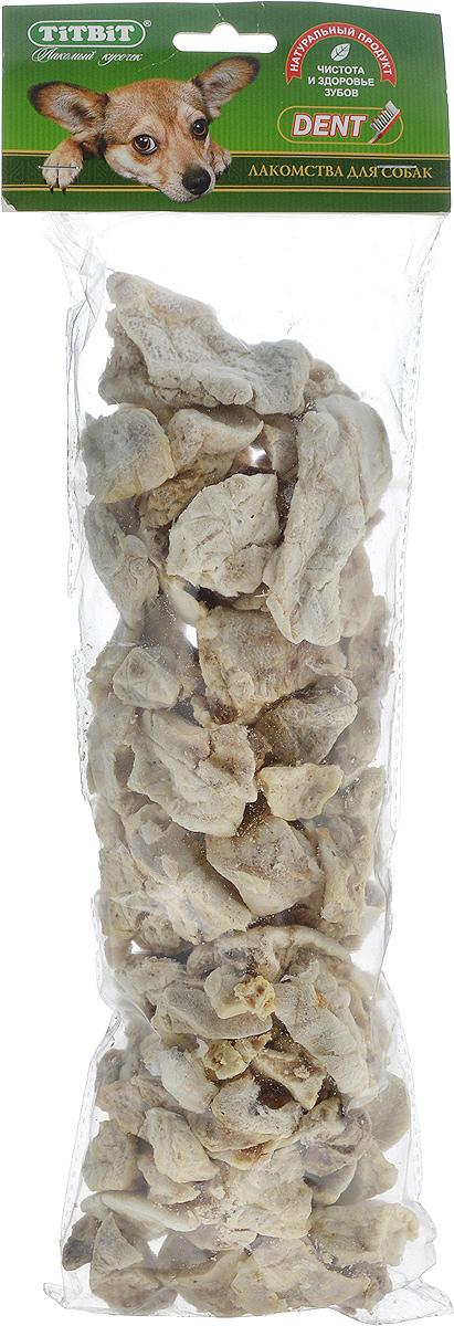 Лакомство для собак всех пород Titbit, легкое говяжье, размер XXL0120710Лакомство для собак Titbit содержит кусочки высушенного говяжьего легкого. Высокое содержание микроэлементов и соединительной ткани дополняет удовольствие собаки от нежного лакомства. Легкие очень вкусны, малокалорийны и замечательно усваиваются организмом. Легкие содержат практически такой же набор витаминов, как и мясо, но зато гораздо менее жирные. Оказывают положительное воздействие на состояние кожи, шерсти и общий обмен веществ.Рекомендации к применению: кусочки очень удобно использовать в качестве поощрения при дрессуре, и просто на прогулках. Для собак всех пород и возрастов. Особенно рекомендуется для собак с неполной зубной формулой и возрастными изменениями зубочелюстного аппарата. Благодаря вкусовым качествами воздушной структуре является одним из самых любимых лакомств для наших четвероногих друзей.Состав: высушенные кусочки говяжьего легкого. Средний размер лакомства: 4,5 см х 3,5 см х 2 см.Товар сертифицирован.