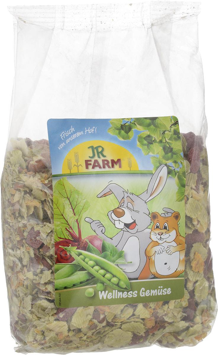 Лакомство для грызунов JR Farm Овощные хлопья, 600 г0120710Лакомство для грызунов JR Farm Овощные хлопья - это легко перевариваемые овощные хлопья для отличного здоровья. Хлопья прошли минимальную, мягкую обработку и богаты витаминами. Без искусственных красителей и консервантов. Товар сертифицирован.