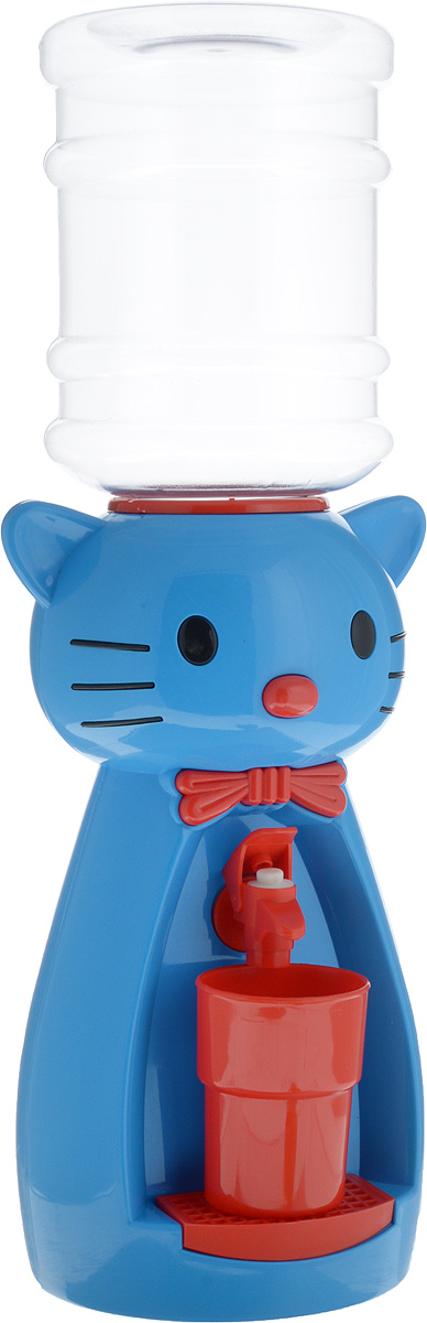Мини-кулер для воды и сока HITT Мультик. Китти, цвет: голубой, красный, 2 лVT-1520(SR)Детский мини-кулер HITT Мультик. Китти выполнен из экологически чистого пластика. Изделие не греет и не охлаждает воду, поэтому вы можете не беспокоиться, что ребенок обожжется или простудит горло. Соки, компоты, отвары трав в этом кулере будут для малыша более привлекательны, чем лимонад и другие вредные для организма напитки.Кроха с удовольствием будет наливать напиток из кулера в небольшой стаканчик совсем как взрослый. Ребенок станет потреблять больше жидкости. Вам не придется уговаривать его выпить молоко или компот.Изделие легкое и компактное, поэтому его можно взять с собой на дачу или на пикник. Яркий дизайн, сочные цвета и веселый персонаж сделают такой кулер украшением стола на детском празднике.Стакан входит в комплект.Высота мини-кулера (с учетом бутылки): 49 см. Размер стаканчика: 6,5 х 5 х 8,5 см. Высота бутылки: 18 см.