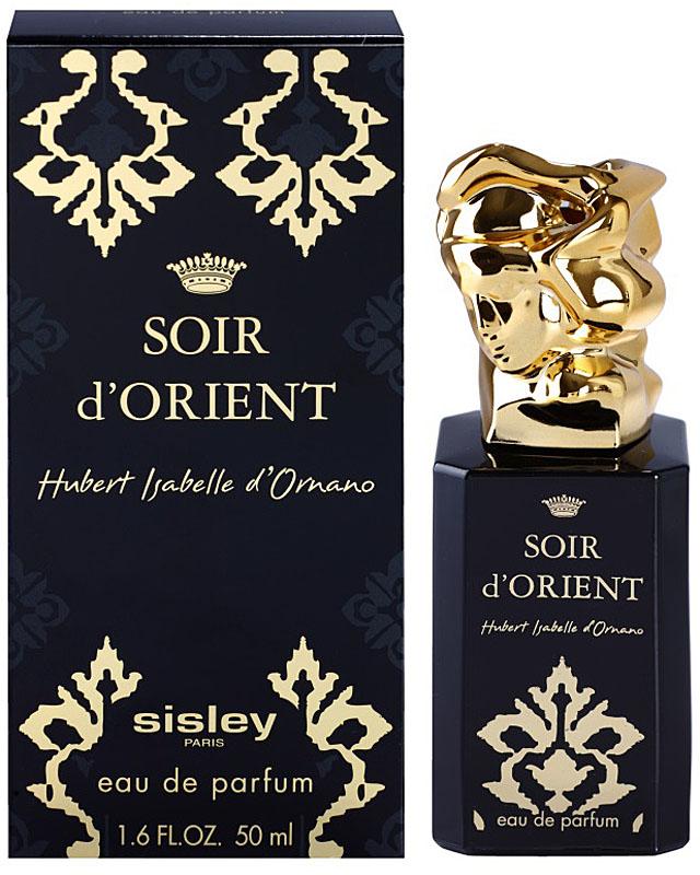 Sisley Soir Dorient Woman парфюмированная вода, 50 млGESS-131Восточные. Гальбанум, лимон, шафран, ладан, пачули, сандаловое дерево, : герань, перец, роза