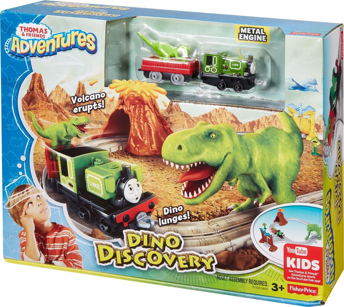 Thomas & Friends Железная дорога Парк динозавров, Mattel