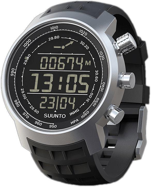 """Часы спортивные Suunto """"Elementum Terra"""", цвет: черный, серый"""